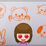 子供が喜ぶお絵かき遊び♪誰でも1分で描けるカンタン動物5種の描き方紹介!お家でもお出かけ先でも!