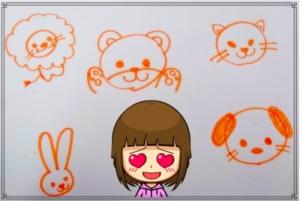 子供が喜ぶお絵かき見本動物のイラスト5選!書き方やコツをわかりやすく解説!