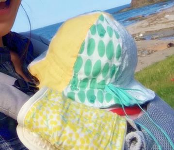 赤ちゃんの春夏の帽子に一番おすすめ「チューリップハット」買う?手作りする?うちの子の帽子のサイズの測り方は?