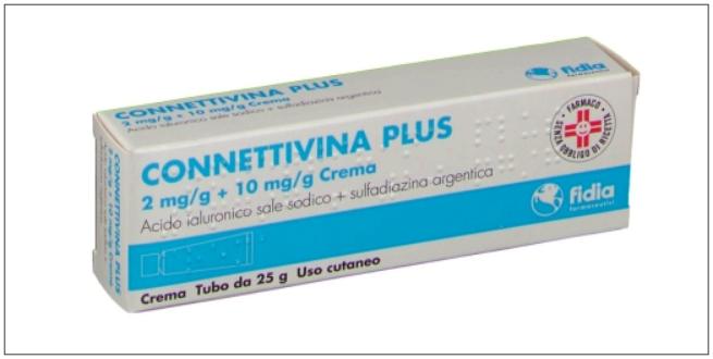 子供の薬メモ【ひどい外傷・火傷】「Connettivina Plus 2mg/g + 10mg/g Crema」~イタリア生活記