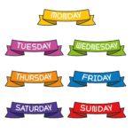 イタリア語の語彙力UP!日時を表す単語7選「曜日」